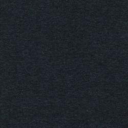 Tissu sweat chiné gris orageux fond noir