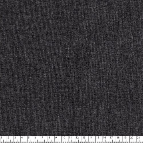 Tissu twill viscose gris chiné