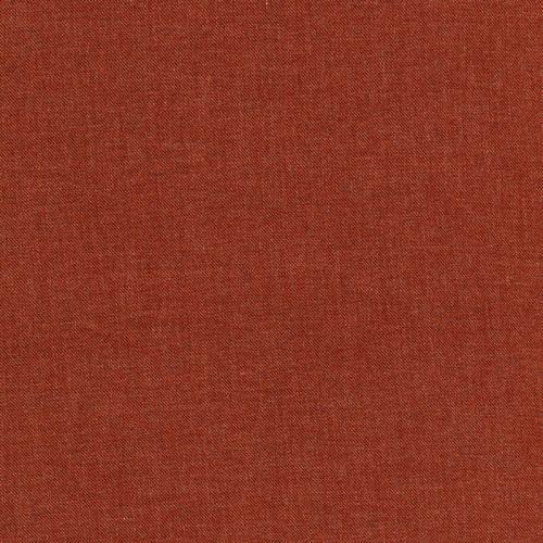 Tissu twill viscose terracotta chiné