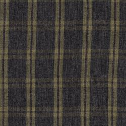 Tissu twill viscose écossais gris/kaki/cuivre