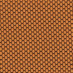 Tissu maille jacquard moutarde 79%pol/18%vi/3%sp larg 145cm