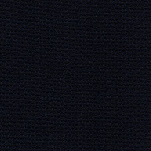Tissu maille milano gaufré bleu nuit/noir