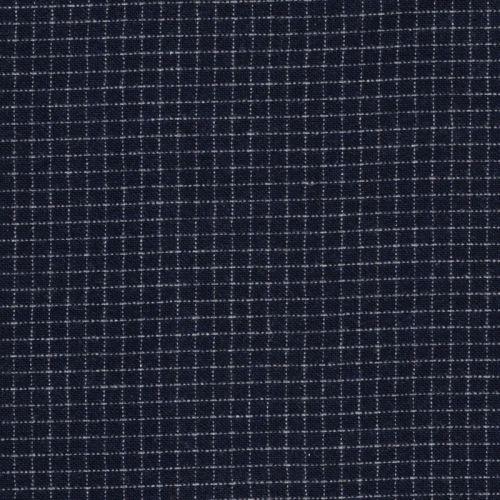 Tissu Vito bleu  65%wo/30%pol/5%wov larg 150 cm