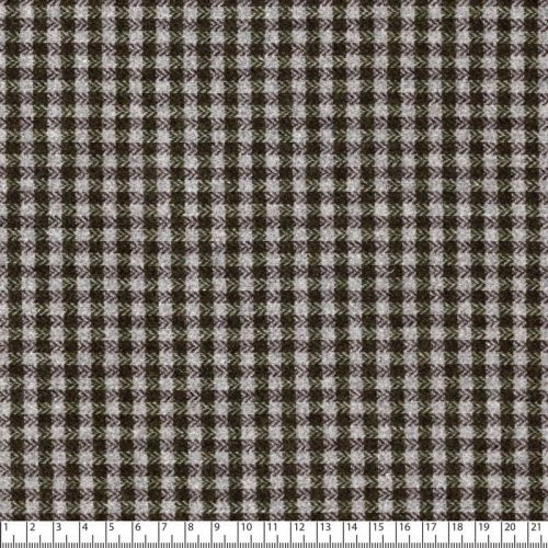 Tissu Sofia gris/vert 45%pa/30%pol/20%w5%lx larg 150 cm