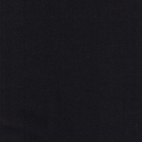 Tissu lainage noir 80%laine/20%pol larg 140cm