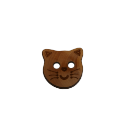 Bouton tête de chat