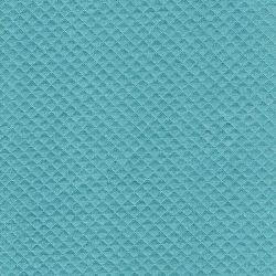 Tissu jersey matelassé mini losange eucalyptus 75%cot/25%pol  l