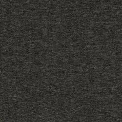 Tissu sweat chiné gris foncé