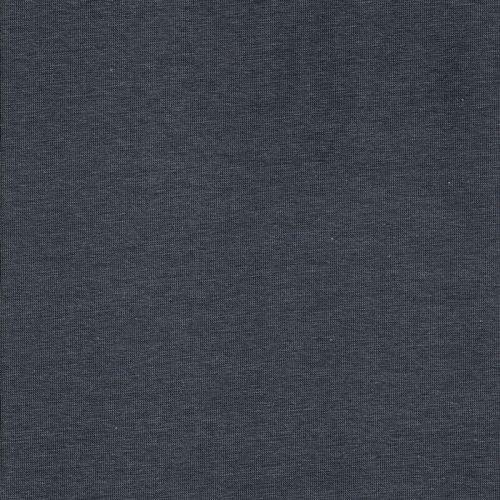 Tissu sweat bio gris côtes fines façon bord côte
