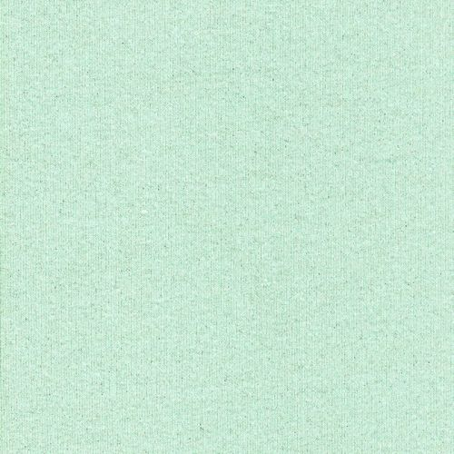 Tissu jogging glitter 90%cot/10%lurex larg 145cm vert d'eau