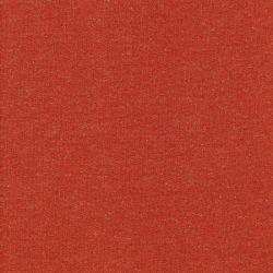 Tissu jogging glitter 90%cot/10%lurex larg 145cm terracota/doré