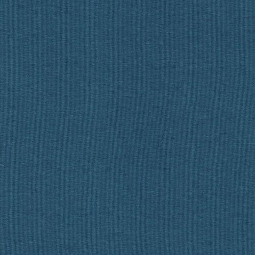 Tissu jersey BIO bleu jean 95%cot/5%el larg 150cm