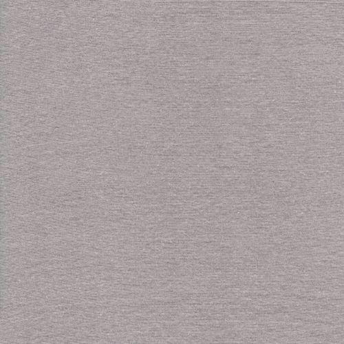 Bord côte gris clair 95%cot/5%el larg 70 cm