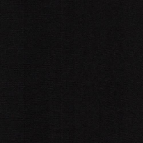 Bord côte noir 95%cot/5%el larg 70 cm