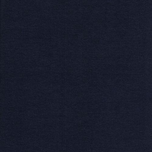 Bord côte bleu foncé coton Bio