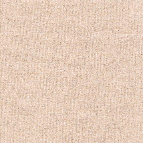 Tissu jogging rose nude et paillettes dorées
