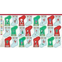 Panneau Calendrier de l'avent Jolly Santa 60 cm X 110 cm