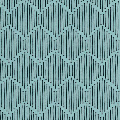 Tissu graphique fd vert 100%coton larg 110 cm