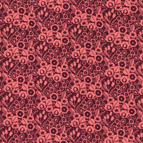 Tissu coton  Adele Cotton Steel