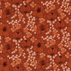 Tissu coton Meghan caramel Cotton steel