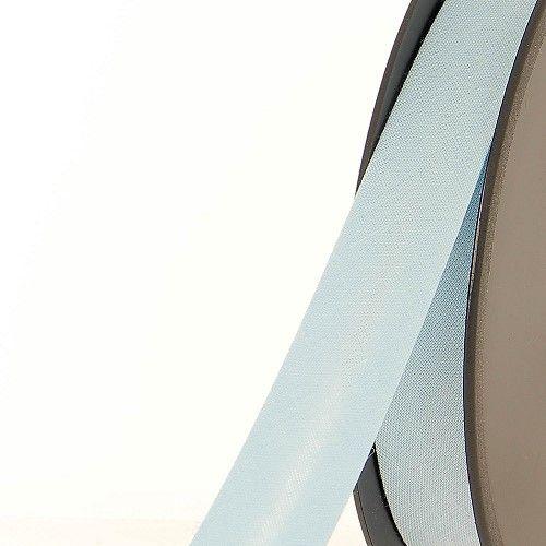Biais replié 20 mm 50 % coton/50 % poly bleu ciel