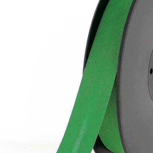 Biais replié 20 mm 50 % coton/50 % poly vert grenouille
