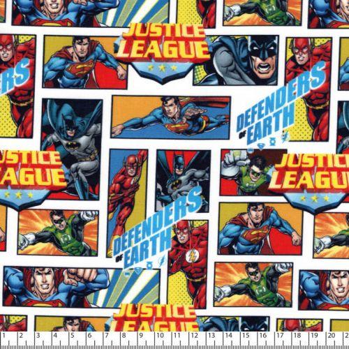 Tissu Justice league BD