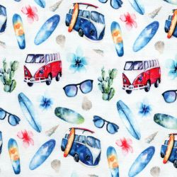 Tissu jersey digital Ibiza Camping