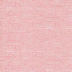 Tissu coton à pois fond rose Apricot