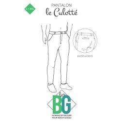 Patrons les BG Pantalon Le Culotté