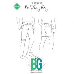 Patrons les BG Bermuda Le Play Boy