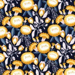 Tissu coton Isla jaune Cotton Steel