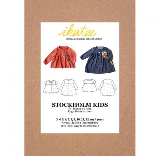Patron Ikatee Stockholm Kids 3-12 ans