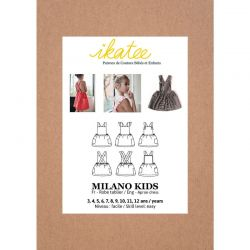 Patron Ikatee Milano kids 3 ans - 12 ans