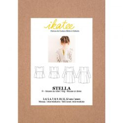 Patron Ikatee Stella Duo Blouse/Robe 3-12 ans