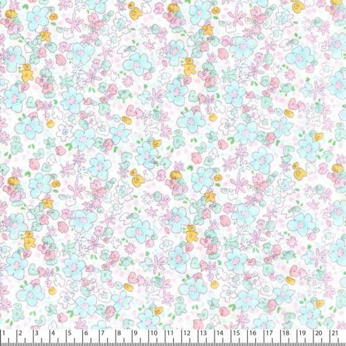 Tissu coton Michael Miller fleurs meadow