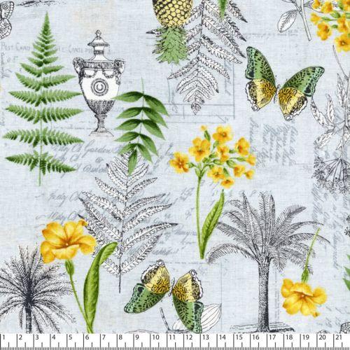 Tissu coton botanique