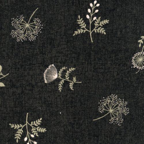 Tissu Autam Follest 100% coton larg 110 cm