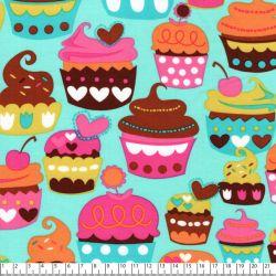 Tissu coton Michael Miller cup cakes