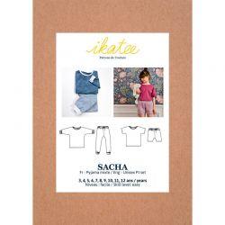 Patron Ikatee Sacha Kids  3-12 ans