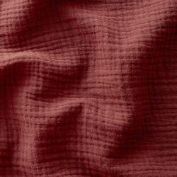 Tissu Double gaze de coton Tomette