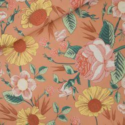 Tissu jersey épais Bloom Garden See you at Six