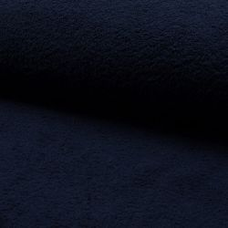 Tissu éponge coton marine