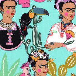Tissu coton Frida Folklorico