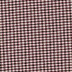 Tissu mini carreaux noir/bordeaux