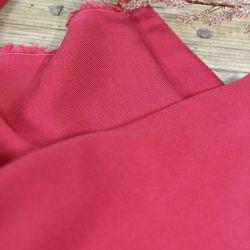 Tissu viscose serge rose grenadine