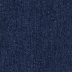 Tissu chambray bleu 100% coton larg 140cm