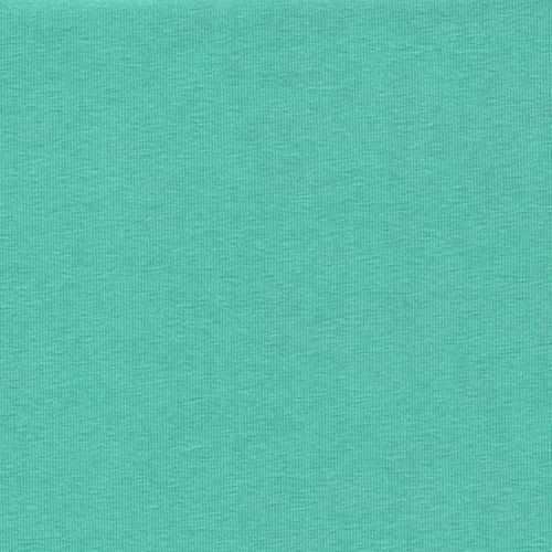 Tissu Jersey de luxe vert d'eau 92% viscose / 8%elast