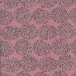 Tissu Jersey 95%cot/5%el pollen fd rose