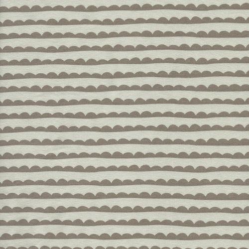 Tissu Jersey 95%cot BIO/5%el cloud bei/taupe